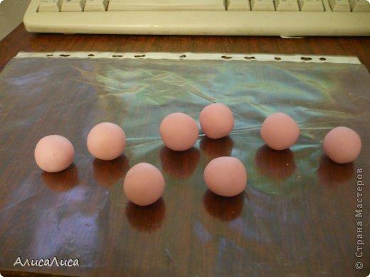 Мастер-класс Поделка изделие Лепка Итак будем пробовать сделать МК по Викторианской розе Фарфор холодный фото 2