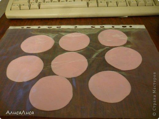 Мастер-класс Поделка изделие Лепка Итак будем пробовать сделать МК по Викторианской розе Фарфор холодный фото 3