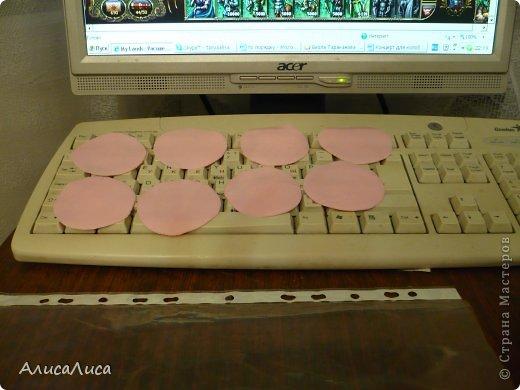 Мастер-класс Поделка изделие Лепка Итак будем пробовать сделать МК по Викторианской розе Фарфор холодный фото 4