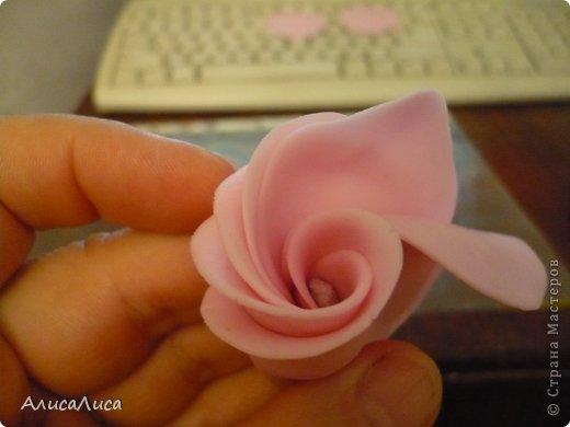 Мастер-класс Поделка изделие Лепка Итак будем пробовать сделать МК по Викторианской розе Фарфор холодный фото 8