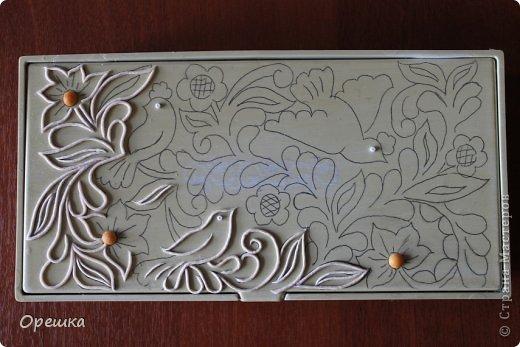 Приветствую Вас, гости моей странички. Сегодня у меня шкатулка в серебре. Техника пейп- арт Тани Сорокиной.  фото 7