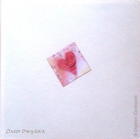 Всем привет! Я с двумя открытками. Очень редко делаю что-то нежное и розовое, предпочитая винтаж и мужскую тему, но на этот раз получилось следующее: фото 16