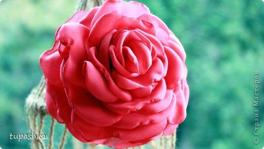 В этом видео уроке мы сделаем Розу из Шифона. Техника вырезания лепестков, обработка из над свечой уже была рассмотрена ранее в видео Пион из Шифона (http://www.youtube.com/watch?v=G5ao60Rwjfs). В этом видео мы изменим способ сборки цветка и у нас получится красивая роза из ткани. Для работы нам потребуется: ❀ отрез шифона шириной 25 см.; ❀ свеча (для обработки лепестков); ❀ иголка с ниткой в тон шифона; ❀ ножницы; ❀ маркер для ткани; ❀ булавки (для фиксации шифона при вырезании лепестков). Приятного просмотра и Творческих успехов!