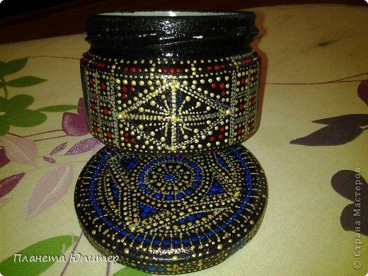Декор предметов Мастер-класс Роспись Точечный набор для специй Краска фото 29