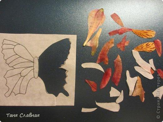 Декор предметов Мастер-класс Аппликация Декупаж Рисование и живопись Шкатулки с аппликацией из сухих лепестков Краска Листья Салфетки фото 22