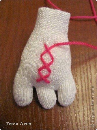 Игрушка Мастер-класс Вязание крючком Шитьё Страус из носков + МК Носки Пряжа фото 15