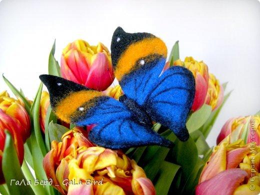 Брошь-бабочка фото 1