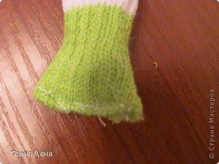 Лягушонок из носков +МК фото 7