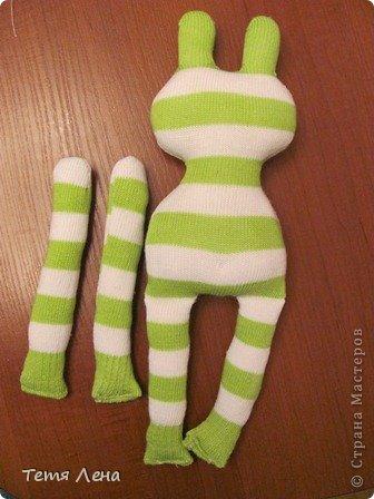 Лягушонок из носков +МК фото 6