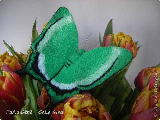 Брошь-бабочка фото 2