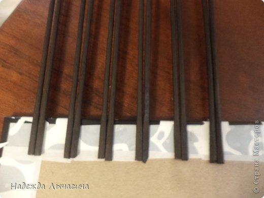 Мастер-класс Плетение МК плетения квадратной крышки Бумага газетная Трубочки бумажные фото 2