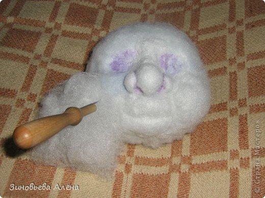 Куклы Мастер-класс Валяние фильцевание Шитьё ДОМОВЁНОК Капрон фото 7