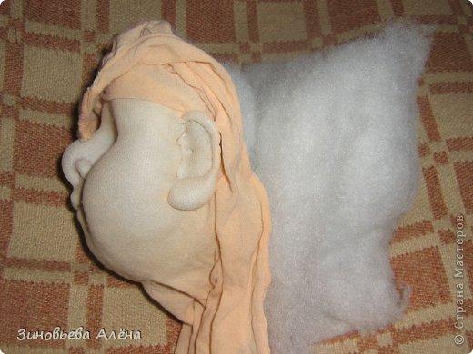Куклы Мастер-класс Валяние фильцевание Шитьё ДОМОВЁНОК Капрон фото 12