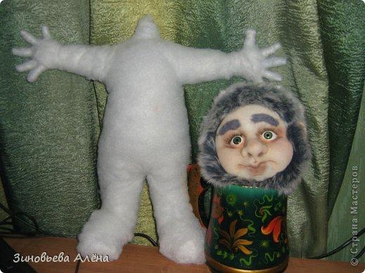 Куклы Мастер-класс Валяние фильцевание Шитьё ДОМОВЁНОК Капрон фото 18