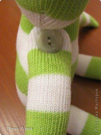 Лягушонок из носков +МК фото 9