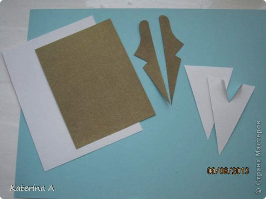 Мастер-класс Открытка Бумагопластика Квиллинг МК мужской открытки Бумага фото 9