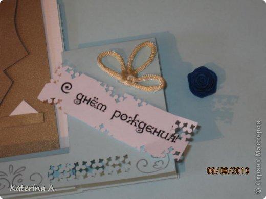 Мастер-класс Открытка Бумагопластика Квиллинг МК мужской открытки Бумага фото 17
