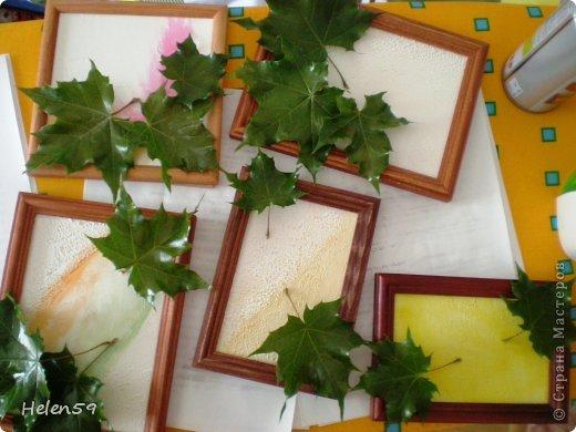 Картина панно рисунок Мастер-класс День учителя Начало учебного года Аппликация Делаем панно ко Дню Учителя Гуашь Карандаш Клей Листья фото 13