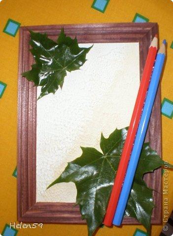 Картина панно рисунок Мастер-класс День учителя Начало учебного года Аппликация Делаем панно ко Дню Учителя Гуашь Карандаш Клей Листья фото 15