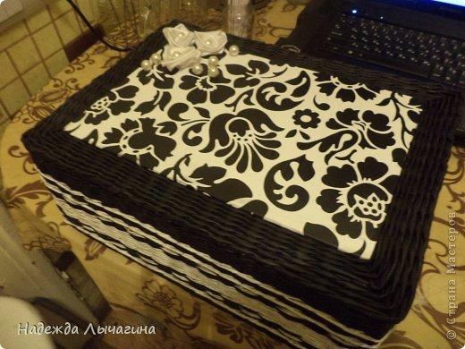 Мастер-класс Плетение МК плетения квадратной крышки Бумага газетная Трубочки бумажные фото 19