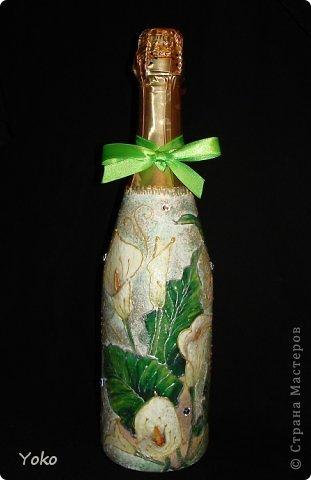 Очередная бутылочка на день рождения подруге. Со всех сторон фото 1