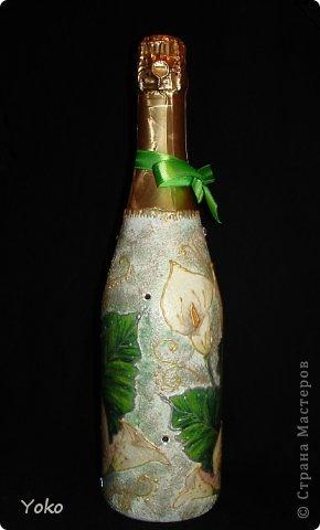 Очередная бутылочка на день рождения подруге. Со всех сторон фото 2