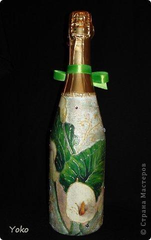 Очередная бутылочка на день рождения подруге. Со всех сторон фото 3