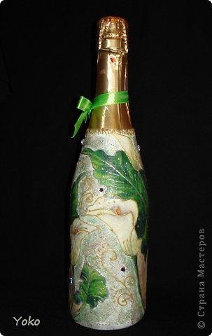 Очередная бутылочка на день рождения подруге. Со всех сторон фото 4