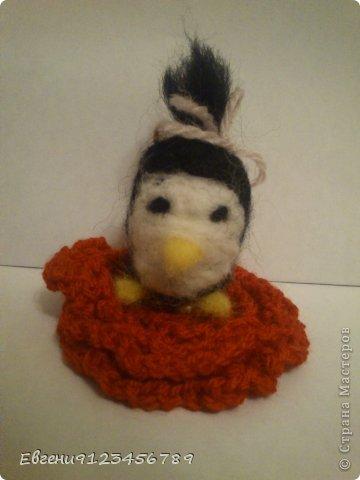 Сидела я в интернете и увидела обычное фото пингвина. фото 2