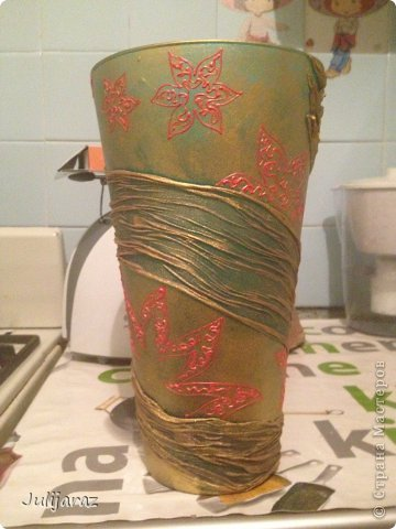Эти вазочки родились на 8 марта.  фото 4