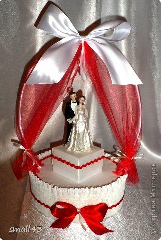 Поделка изделие Свадьба Моделирование конструирование Свадебная арка фото 1