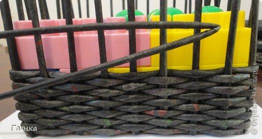 Мастер-класс Поделка изделие Украшение Коллаж Плетение Цумами Канзаши Шкатулки для школьной ярмарки Ленты Трубочки бумажные фото 8
