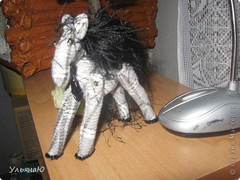 Игрушка Бисероплетение Шитьё Лошадки бывают разные Бисер Ткань фото 4