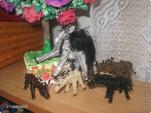 Игрушка Бисероплетение Шитьё Лошадки бывают разные Бисер Ткань фото 5