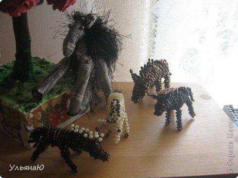 Игрушка Бисероплетение Шитьё Лошадки бывают разные Бисер Ткань фото 8