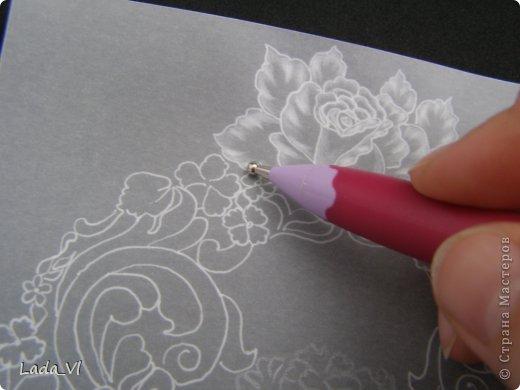 В этом кратком МК представлены основные этапы создания открытки в технике пергамано (Парчмент). фото 6