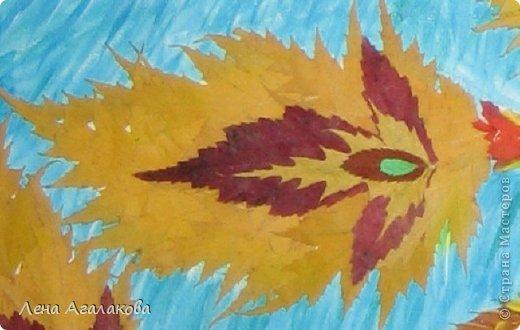 Всем хорошего настроения! Прошлой осенью собирала листья и увидила папоротник - как перышки у птицы. Лежал - ждал своего часа...И еще березовые листики так и просились в хвост жар-птицы Так появилась моя птица Счастья в подарок подруге на день рождения фото 3