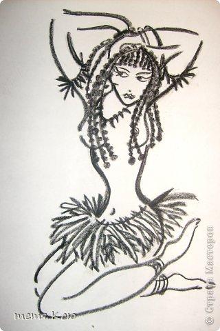 Картина панно рисунок Рисование и живопись рисунки мелками фото 4