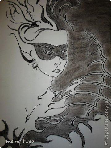 Картина панно рисунок Рисование и живопись рисунки мелками фото 6