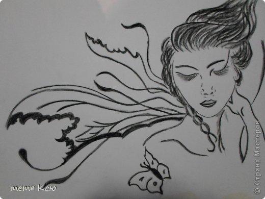 Картина панно рисунок Рисование и живопись рисунки мелками фото 7