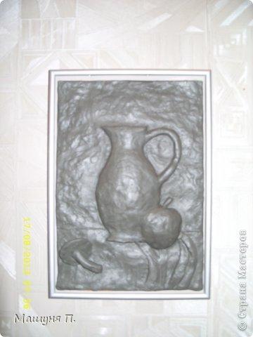 натюрморт из пластилина: