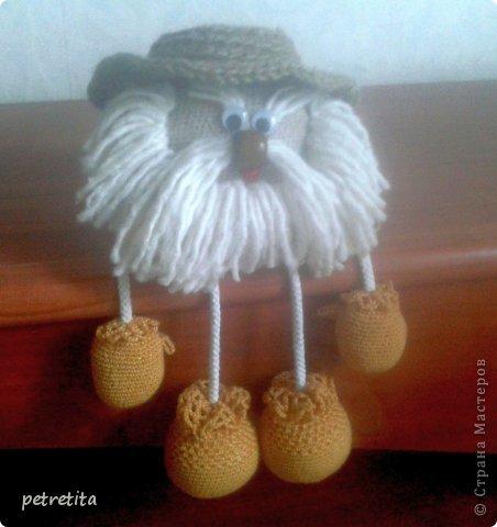 Куклы Мастер-класс Домовенок на новоселье Материал природный Мешковина Нитки Семена фото 16