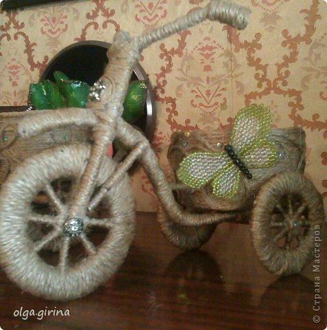 Велосипед своими руками шпагат