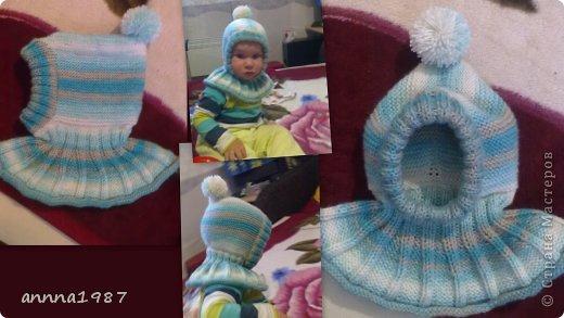 Как связать шапку спицами Женская мужская детская шапка