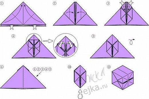 Как сделать поделку из бумаги картинки