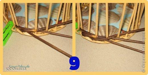 Мастер-класс Поделка изделие Плетение ШКАТУЛКА из газет для новичков МАСТЕР_КЛАСС Бумага газетная Трубочки бумажные фото 13