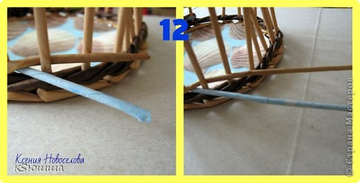 Мастер-класс Поделка изделие Плетение ШКАТУЛКА из газет для новичков МАСТЕР_КЛАСС Бумага газетная Трубочки бумажные фото 16