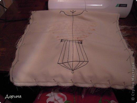 Мастер-класс Шитьё Подушка Модница Ткань фото 21