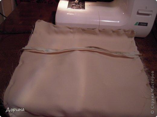 Мастер-класс Шитьё Подушка Модница Ткань фото 22