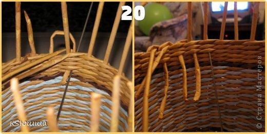Мастер-класс Поделка изделие Плетение ШКАТУЛКА из газет для новичков МАСТЕР_КЛАСС Бумага газетная Трубочки бумажные фото 24